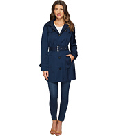 Tommy Hilfiger - Striped Belted Trench Coat