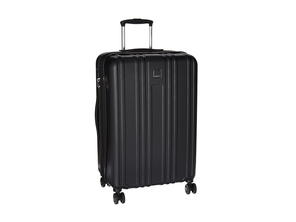 Hedgren Transit Gate Medium Expandable Spinner (Black) Luggage