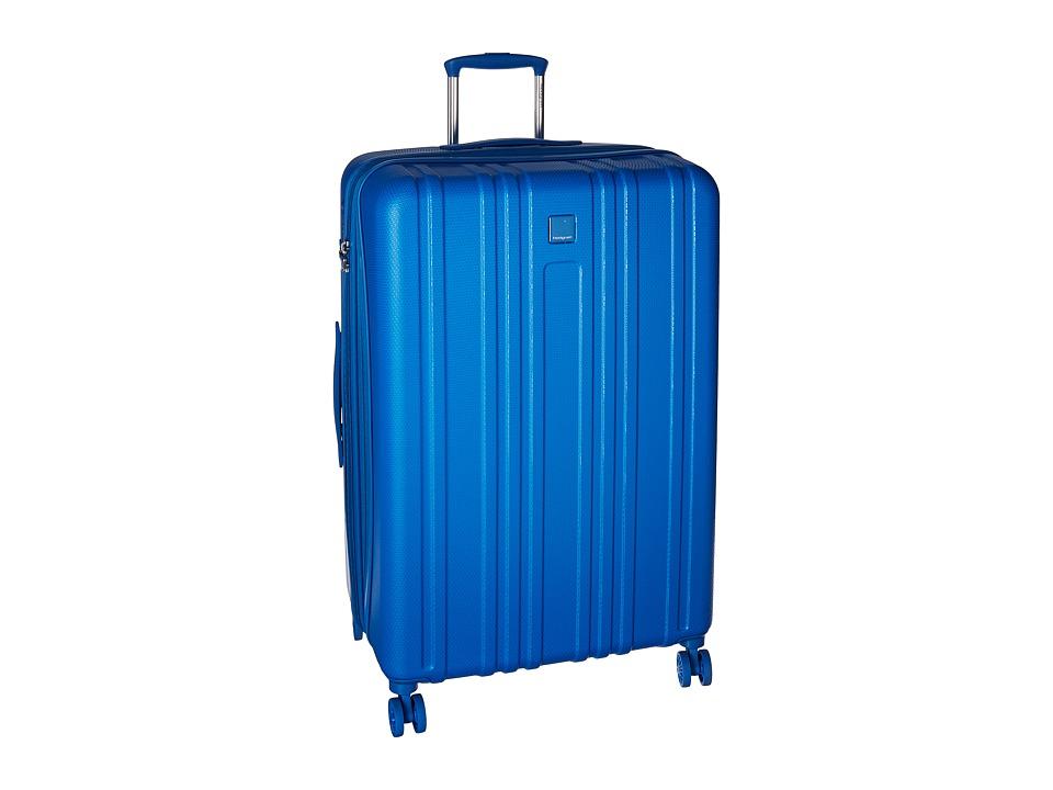 Hedgren Transit Gate Large Expandable Spinner (Snorkled Blue) Luggage