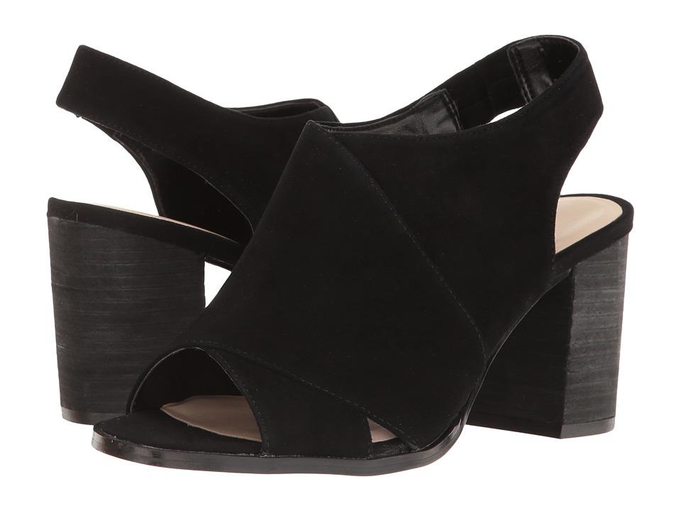 Nine West - Burnby (Black Suede) High Heels