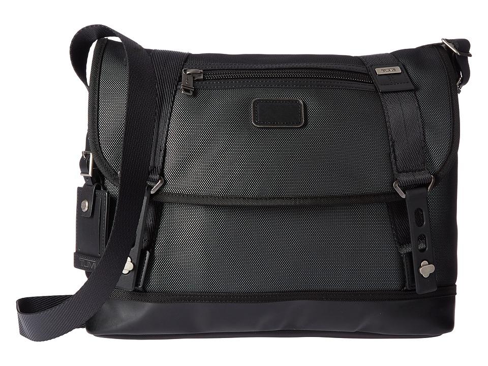 Tumi Alpha Bravo Foster Messenger (Reflective Silver) Messenger Bags