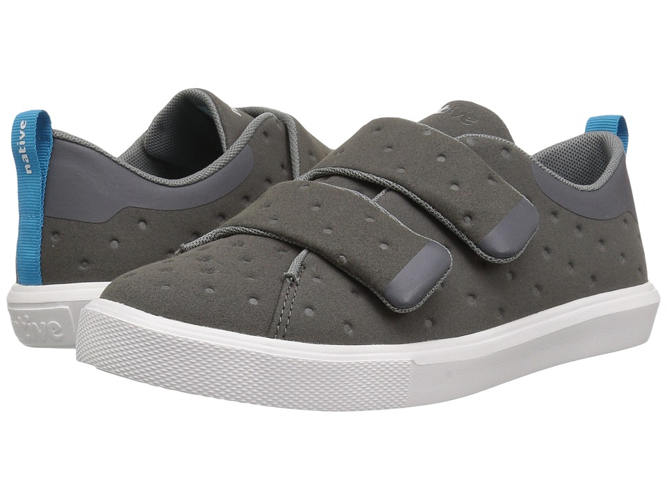 Native Kids Shoes Monaco HL (Little Kid) (Dublin Grey/Shell White) Kids Shoes