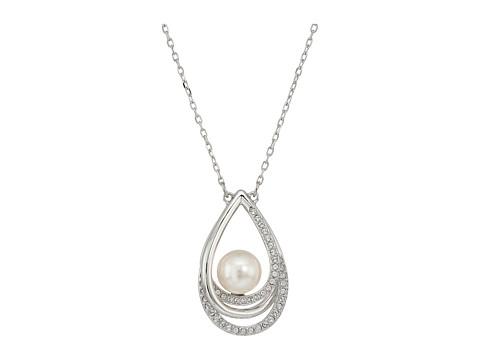 Swarovski Free Pendant Necklace - White