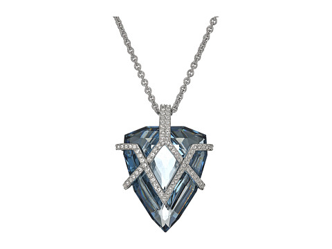 Swarovski Goodwill Pendant Necklace - Blue/Teal