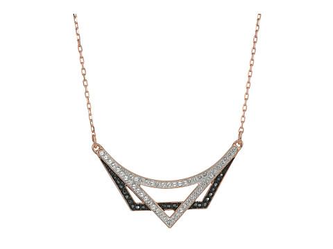 Swarovski Small Geometry Necklace - Rose/White/Black