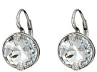 Swarovski Globe Pierced Earrings