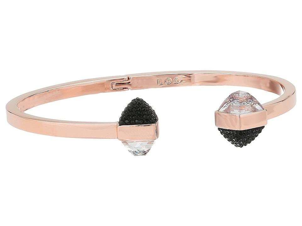 Swarovski - Glance Bangle Bracelet (White/Rose) Bracelet