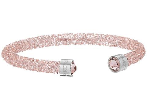 Swarovski Crystaldust Cuff Bracelet - Light Pink