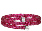 Swarovski Crystaldust Double Bangle Bracelet