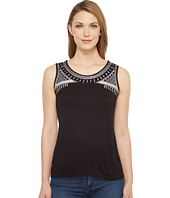 Tribal - Jersey Knit Cami w/ Embroidery and Beading