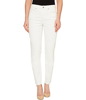 Tribal - Strech Soft Denim Biker Pants in Cream