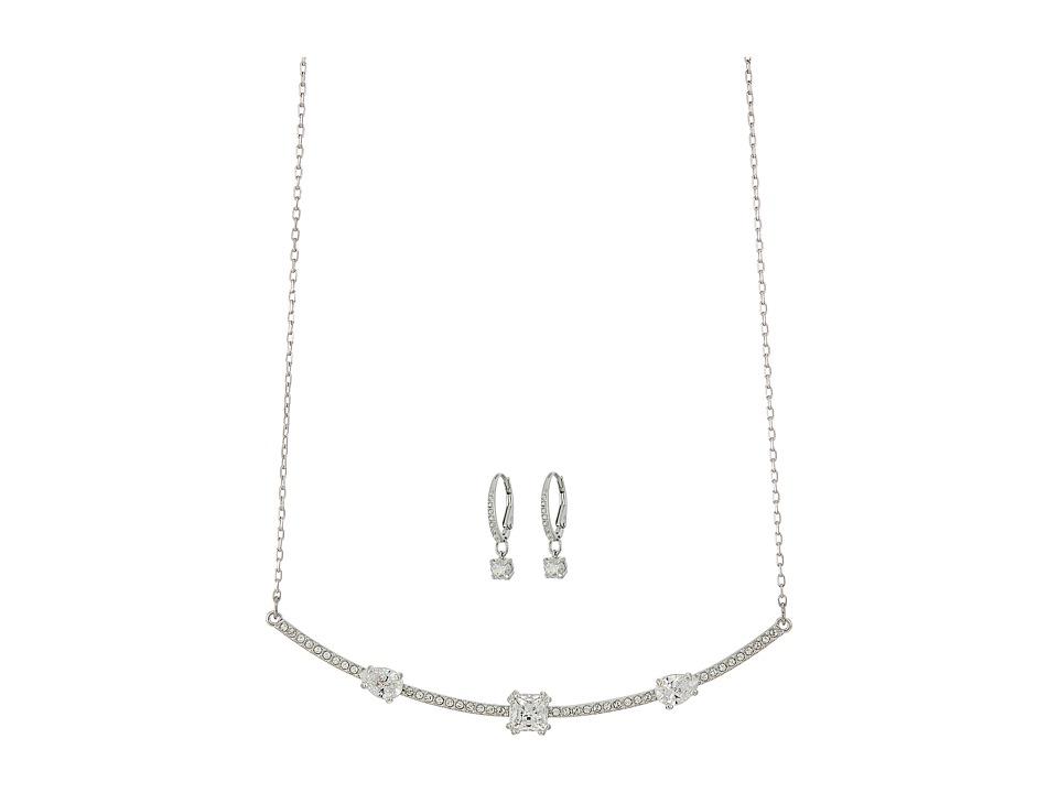 Swarovski Gray Set (White) Jewelry Sets