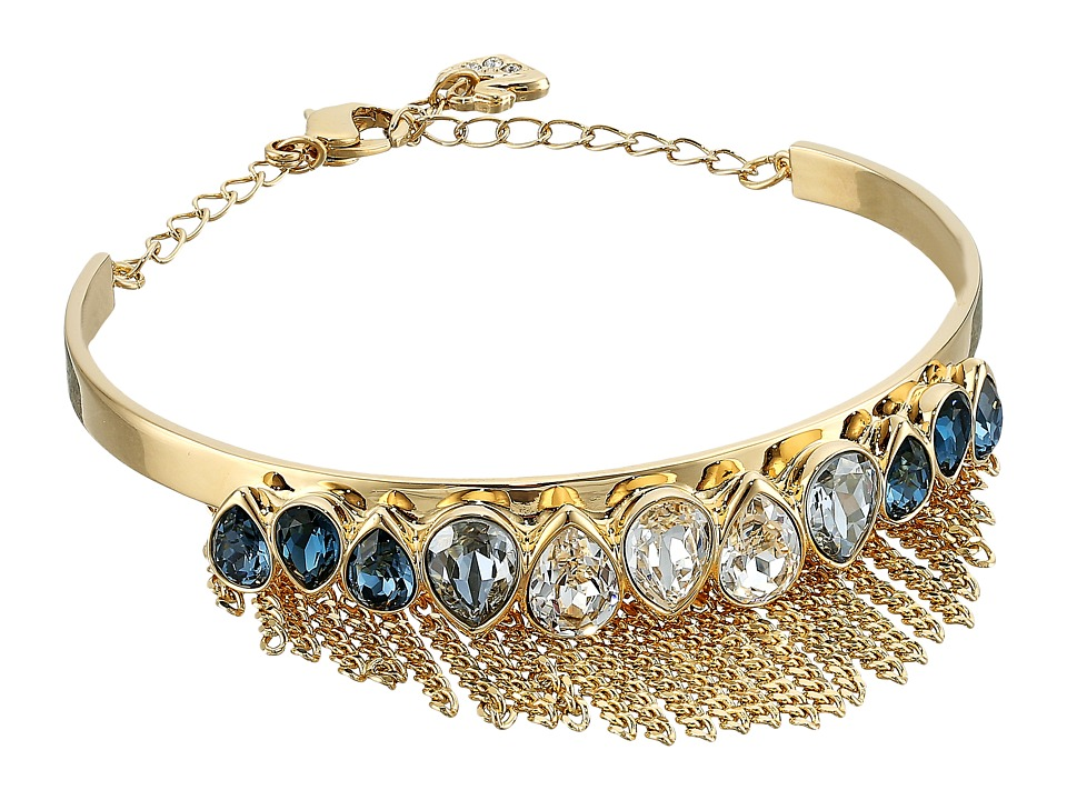 Swarovski Gipsy Bangle Bracelet (Gold/Light Multi) Bracelet