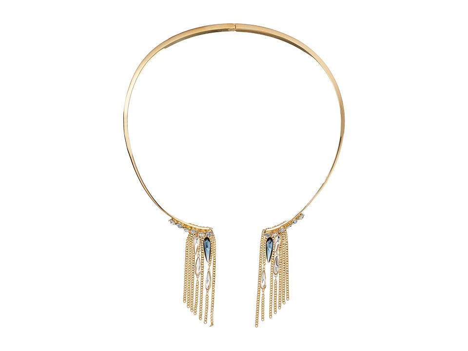 Swarovski Gipsy Necklace Torque (Gold/Light Multi) Necklace
