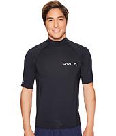 RVCA - Solid Short Sleeve Rashguard