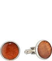 Cufflinks Inc. - Stainless Steel Wood Cufflinks
