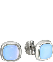 Cufflinks Inc. - Stainless Steel Opal Cushion Cufflinks