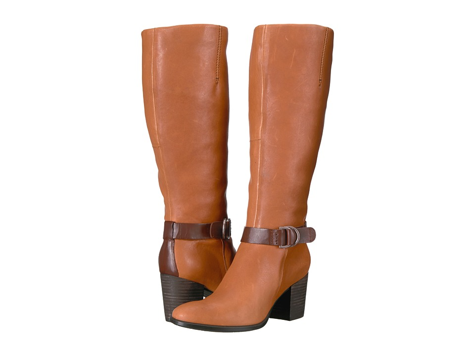 ECCO Shape 55 Tall Boot (Cognac/Mink) Women