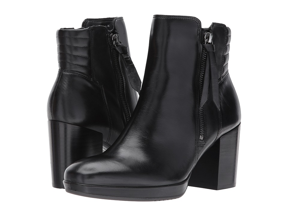 ECCO Shape 55 Chalet Mid Boot (Black Calf Leather) Women