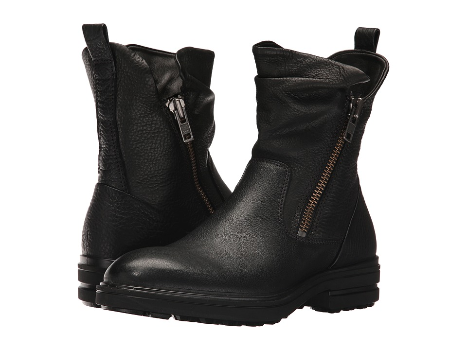 ECCO Zoe Mid Boot (Black/Black) Women