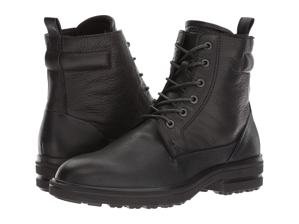 ECCO Zoe Boot (Black/Black) Women