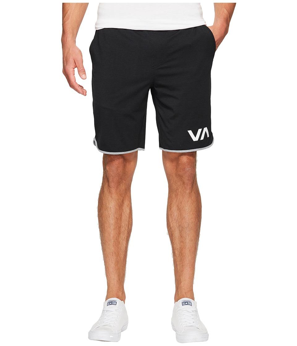 RVCA VA Sport Shorts II (Black) Men