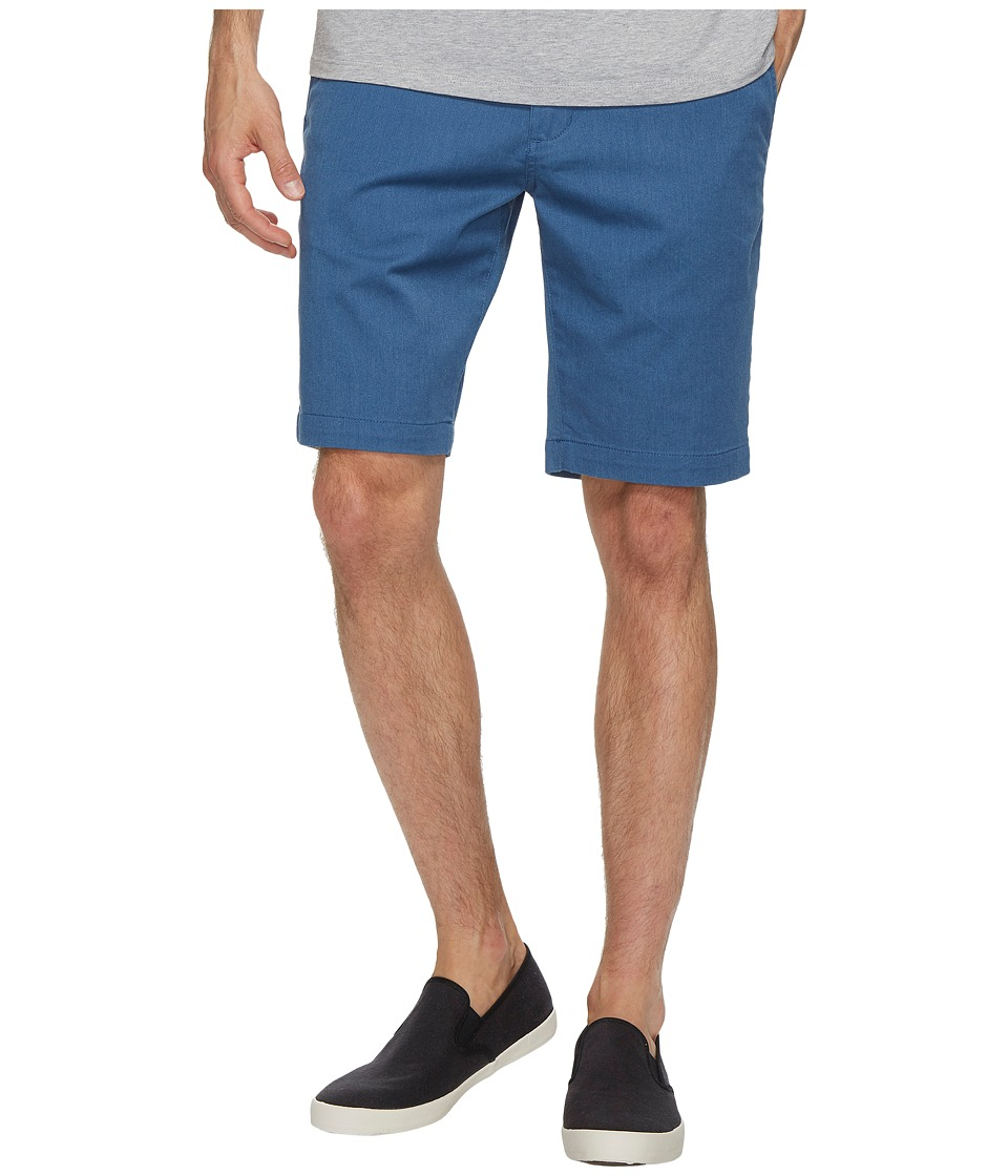 RVCA - The Week-End Stretch Shorts (Lapis Heather) Mens Shorts