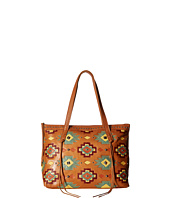 American West - Adobe Allure Zip Top Tote