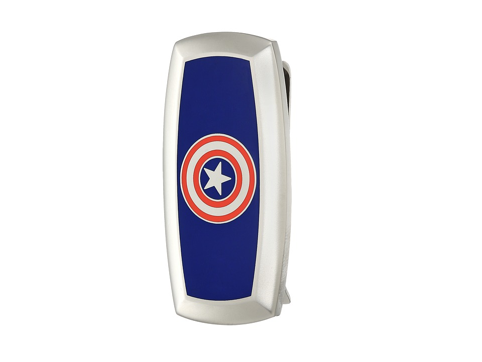 Cufflinks Inc. - Captain America Cushion Money Clip (Blue) Brooches Pins