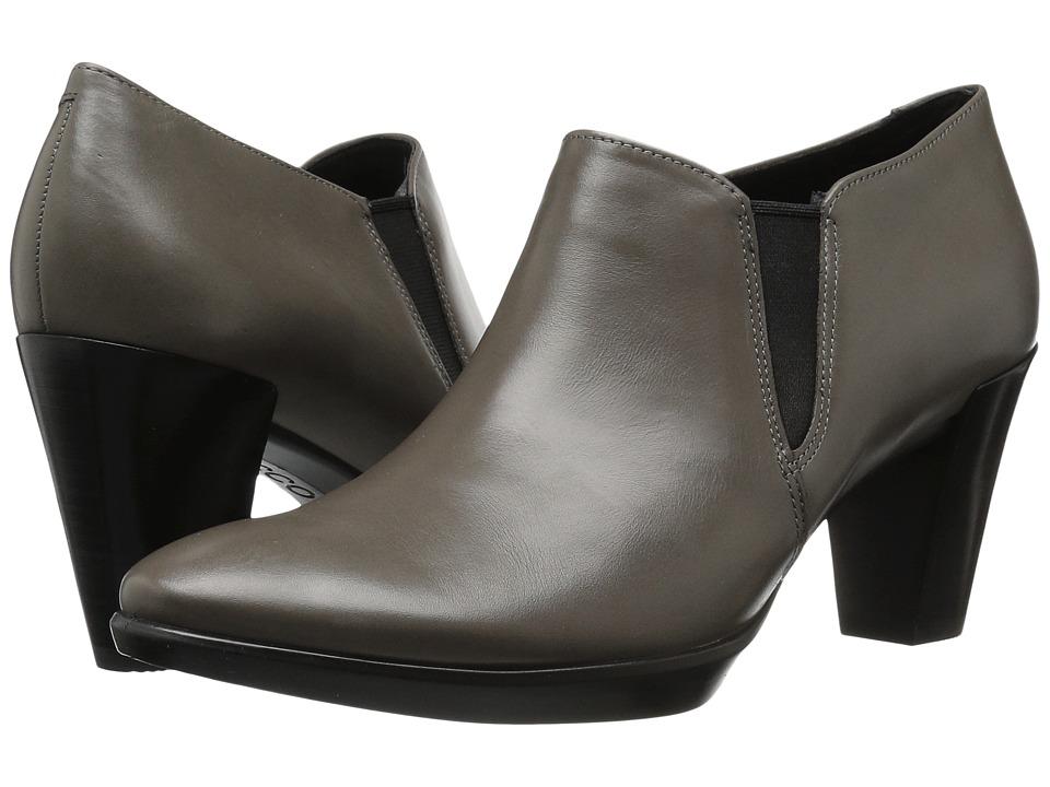 Ecco Shape 55 Plateau Stack Shootie (Stone) High Heels