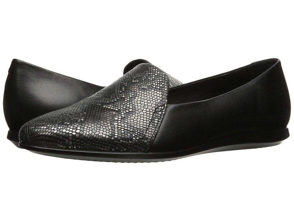 ECCO Touch Ballerina 2.0 Scale (Dark Shadow) Slip-On Shoes