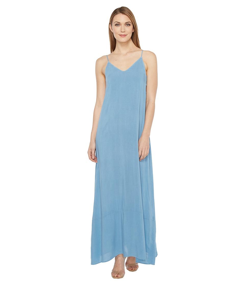 Project Social T Jo Maxi Dress (P. Blue Shadow) Women