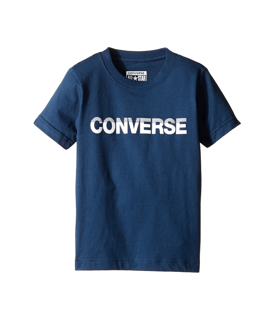 Converse Kids HD Tee (Toddler/Little Kids) (All Star Navy) Boy