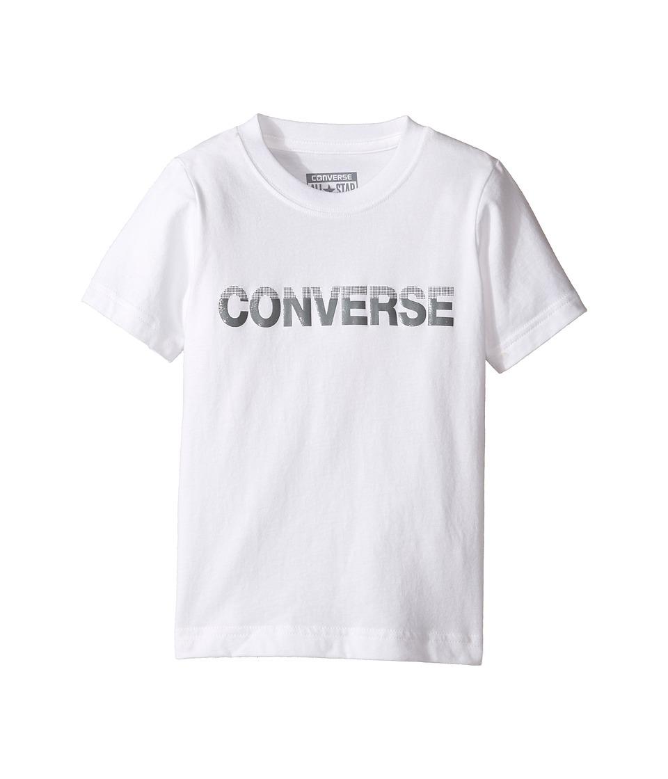 Converse Kids HD Tee (Toddler/Little Kids) (White) Boy