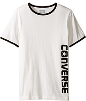 Converse Kids - Short Sleeve Ringer Wordmark (Big Kids)