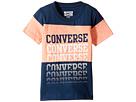 Converse Kids Color Block Repeat Top (Toddler/Little Kids)