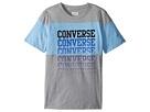 Converse Kids - Color Block Repeat Top (Big Kids)