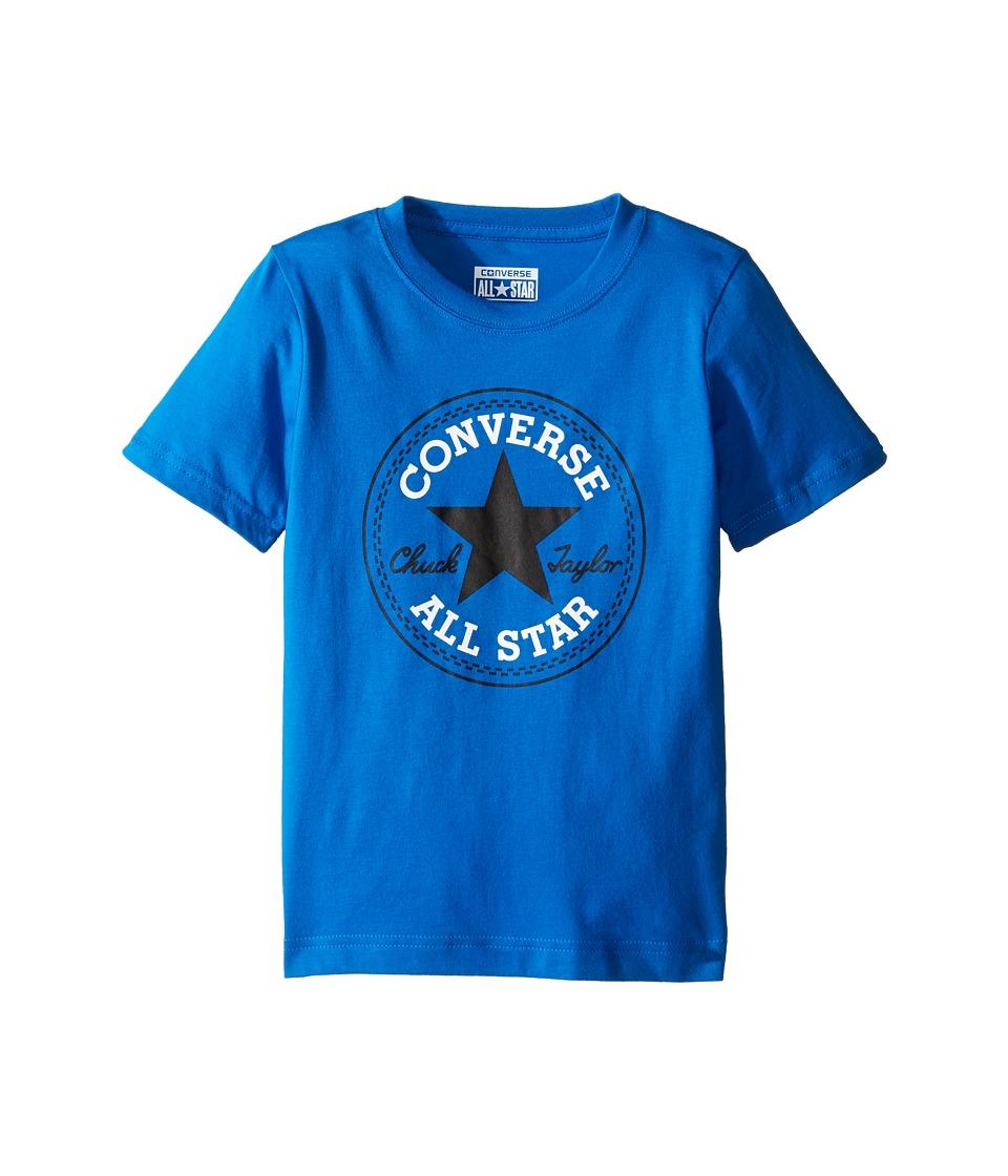Converse Kids Chuck Patch Tee (Toddler/Little Kids) (Soar) Boy