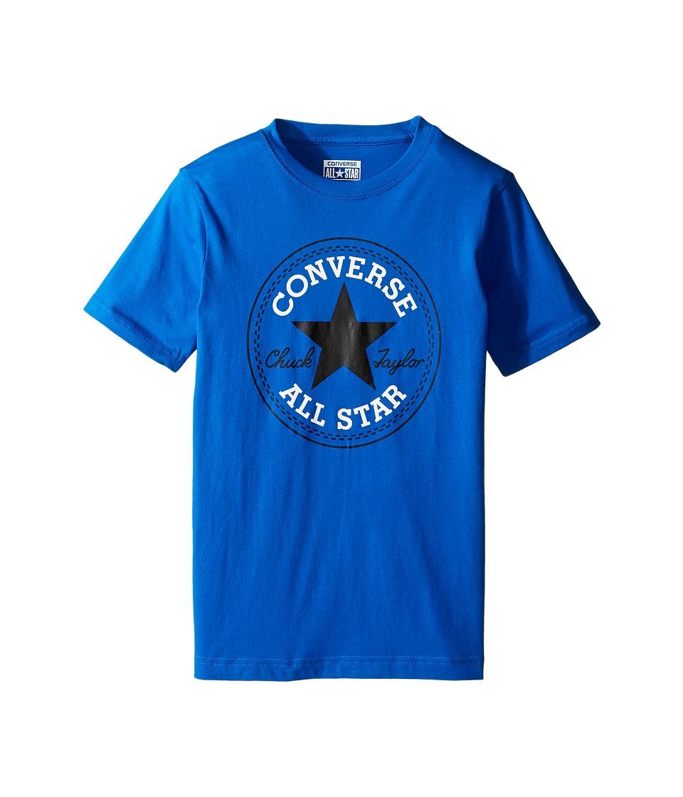 Converse Kids Chuck Patch Tee (Big Kids) (Soar) Boy