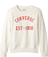 Converse Kids - Vintage Type Crew (Big Kids)