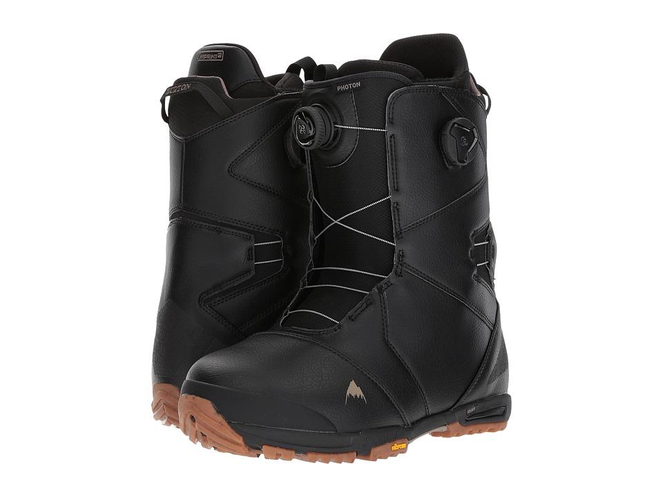 Burton - Photon Boa(r) '18 (Black/Gum) Men's Cold Weather Boots