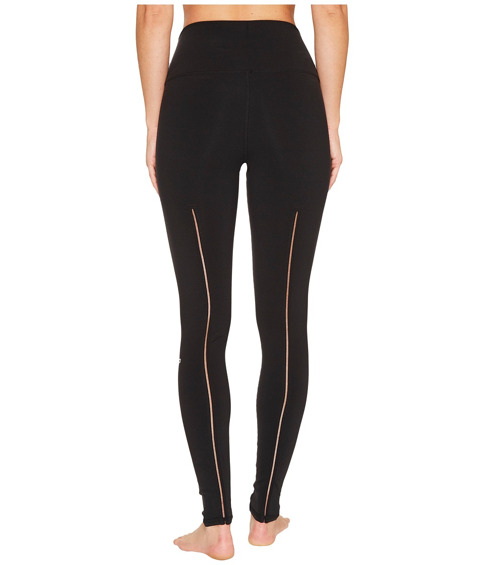 ALO - High Waist Dash Leggings (Black) Women's Casual Pants -  adult