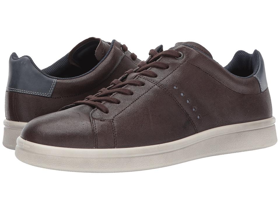 ECCO Kallum Casual Sneaker (Coffee/Marine) Men