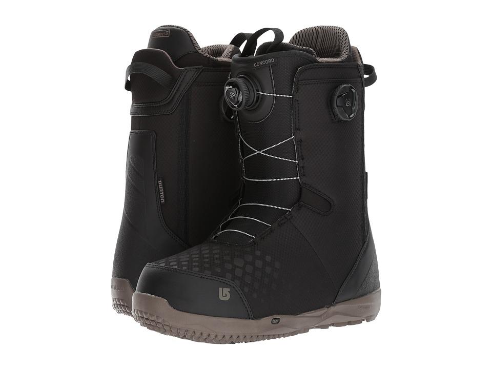 Burton - Concord Boa(r) '18 (Black) Men's Cold Weather Boots