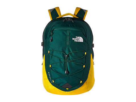 The North Face Borealis - Night Green/Canary Yellow