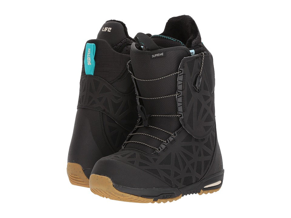 Burton - Supreme '18 (Black) Women's Cold Weather Boots