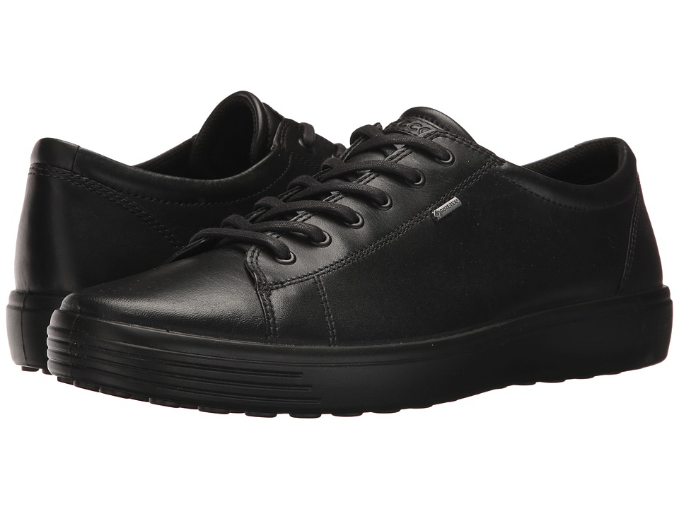 ECCO Soft 7 Low GTX (Black) Men