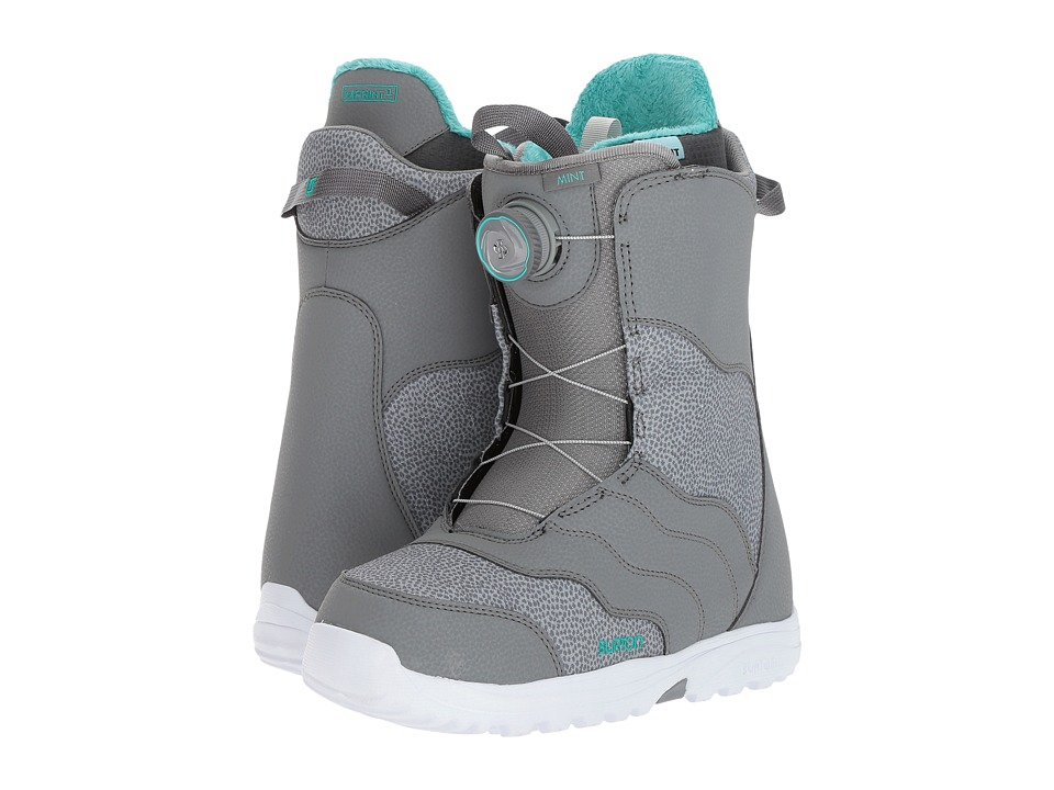 Burton Mint Boa(r) '18 (Gray) Women's Cold Weather Boots
