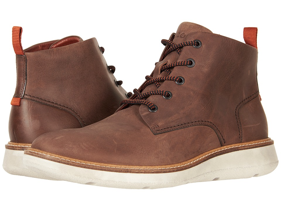 ECCO Aurora Mid Boot (Cocoa Brown) Men