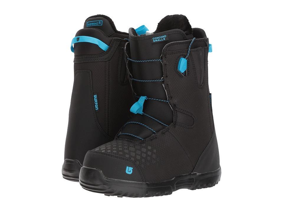 Burton Kids Concord Smalls '18 (Big Kid) (Black/Blue) Boys Shoes